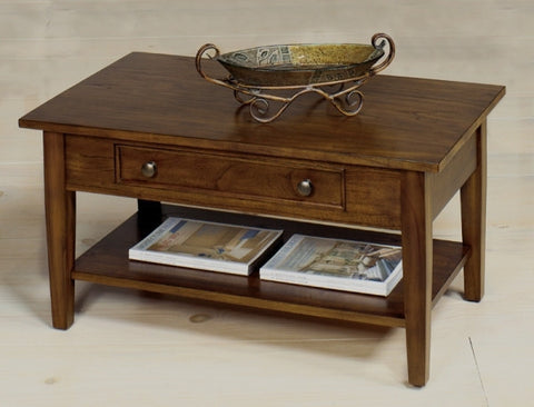 Belgrade Rectangular Cocktail Table - Walnut, Default Title, Occasional Tables - Endicott Home Furnishings