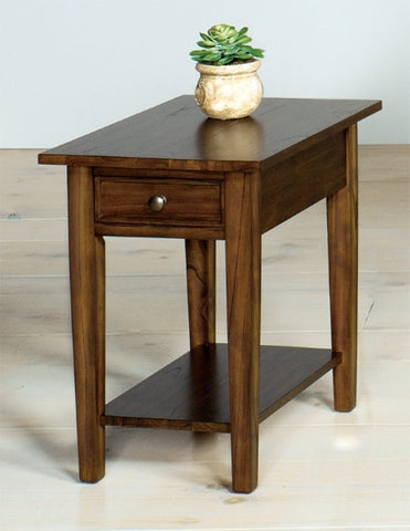 Belgrade Rectangular End Table - Walnut, Default Title, Occasional Tables - Endicott Home Furnishings