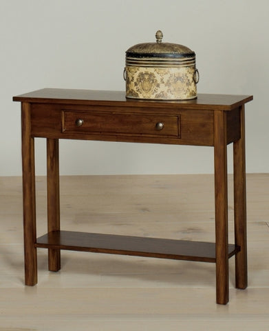 Belgrade Sofa Console Table - Walnut, Default Title, Occasional Tables - Endicott Home Furnishings