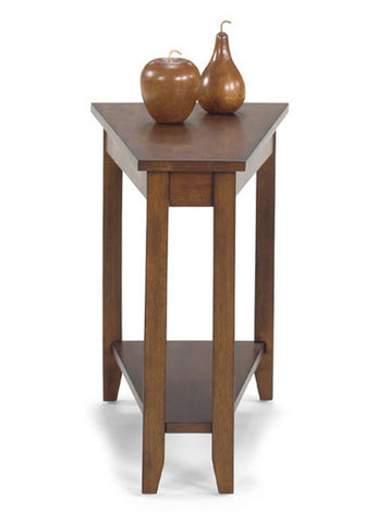 Belgrade Wedge Table - Walnut, Default Title, Occasional Tables - Endicott Home Furnishings