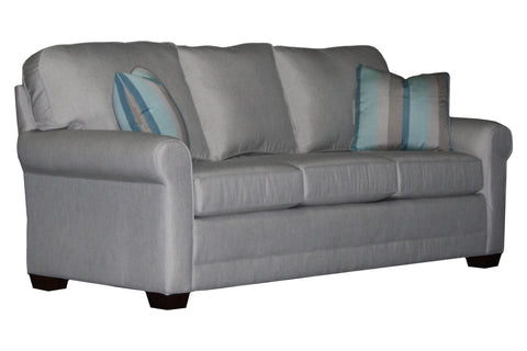 "Tailor Made 85"" sock arm sofa at promotional price with select performance fabrics from Endicott Home - 02"