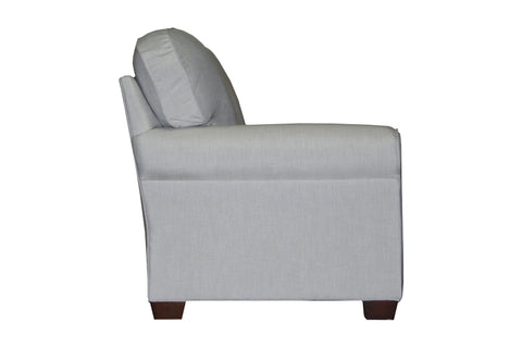 "Tailor Made 85"" sock arm sofa at promotional price with select performance fabrics from Endicott Home - 03"