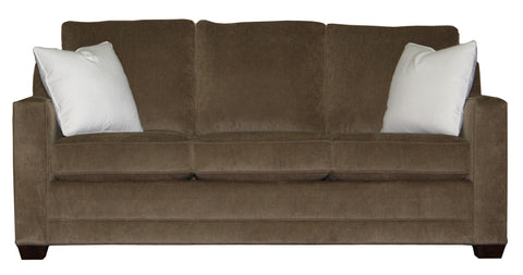 "Tailor Made 81"" track arm sofa at promotional price with select performance fabrics from Endicott Home - 01"