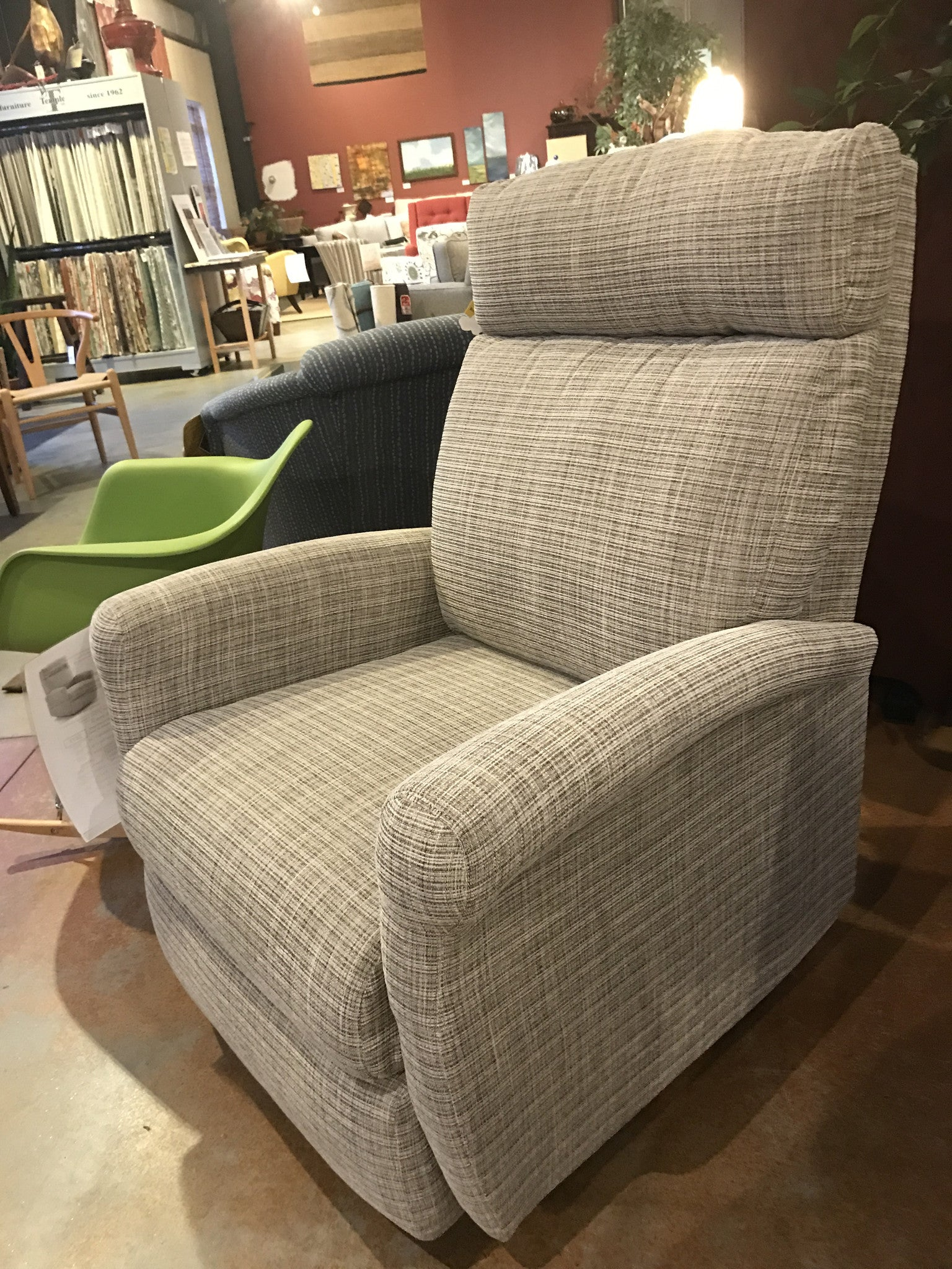 Lovely Compact Rocker Non Toxic Recliner In Tweed Fabric From Condofurniture.com  And Endicott Home ...