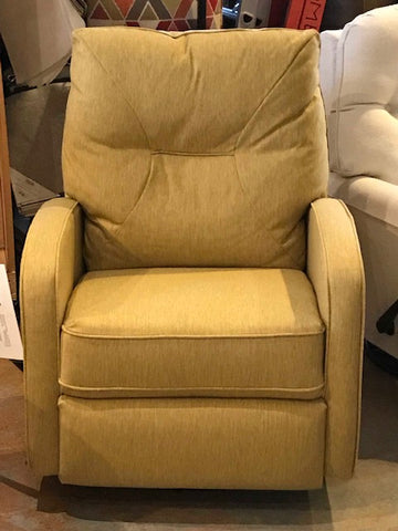 Narrow, comfortable Ingall recliner - front