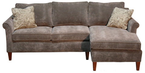 Oscar Sectional #4 - Sectional loveseat and chaise, , Sectionals - Endicott Home Furnishings - 1