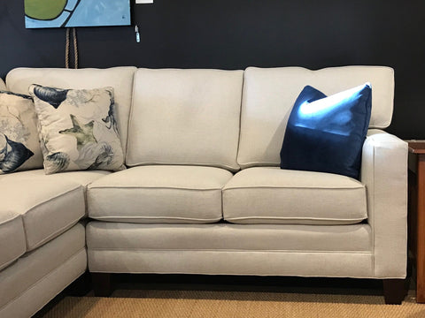 alternate view of new wide track arm deeper sectional for small spaces - 01