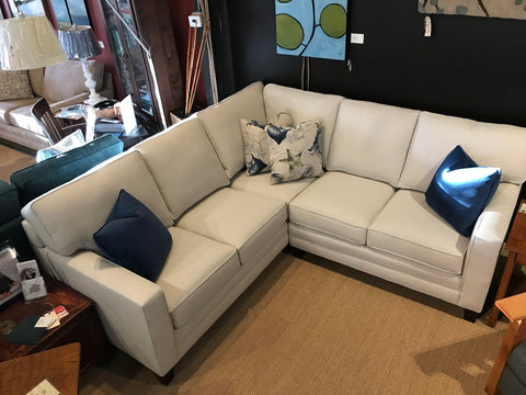 full view of new wide track arm deeper sectional for small spaces - 02