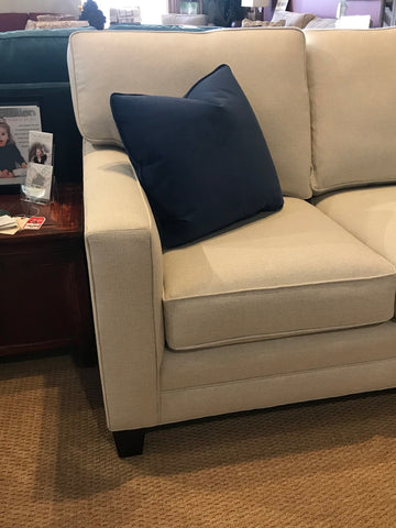 alternate view of new wide track arm deeper sectional for small spaces - 02