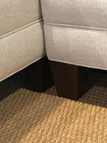 detail view of new wide track arm deeper sectional for small spaces - 02