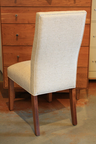 Strong, beautiful, narrow Parsons dining side chair