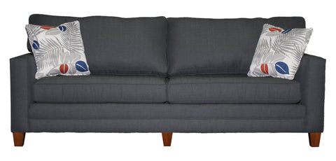 "Tailor Made Wide Track Arm 3-cushion 81"" sofa from Endicott Home Furnishings in Portland Maine - 01"