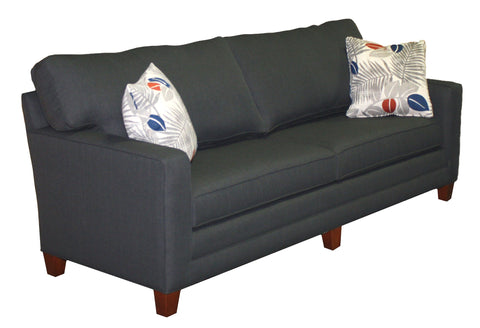 "Tailor Made Wide Track Arm 3-cushion 81"" sofa from Endicott Home Furnishings in Portland Maine - 02"