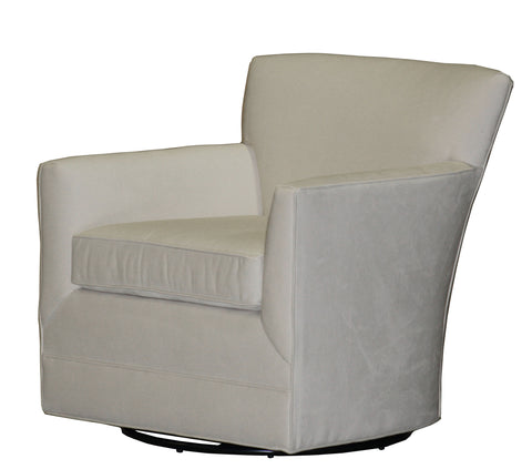 Non-toxic, customizable Michaela Swivel Chair - Endicott Home Furnishings - 2