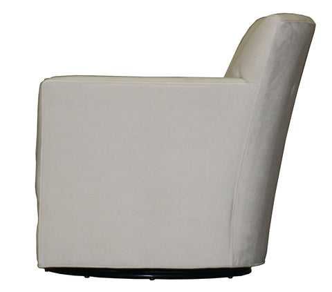 Non-toxic, customizable Michaela Swivel Chair - Endicott Home Furnishings - 3