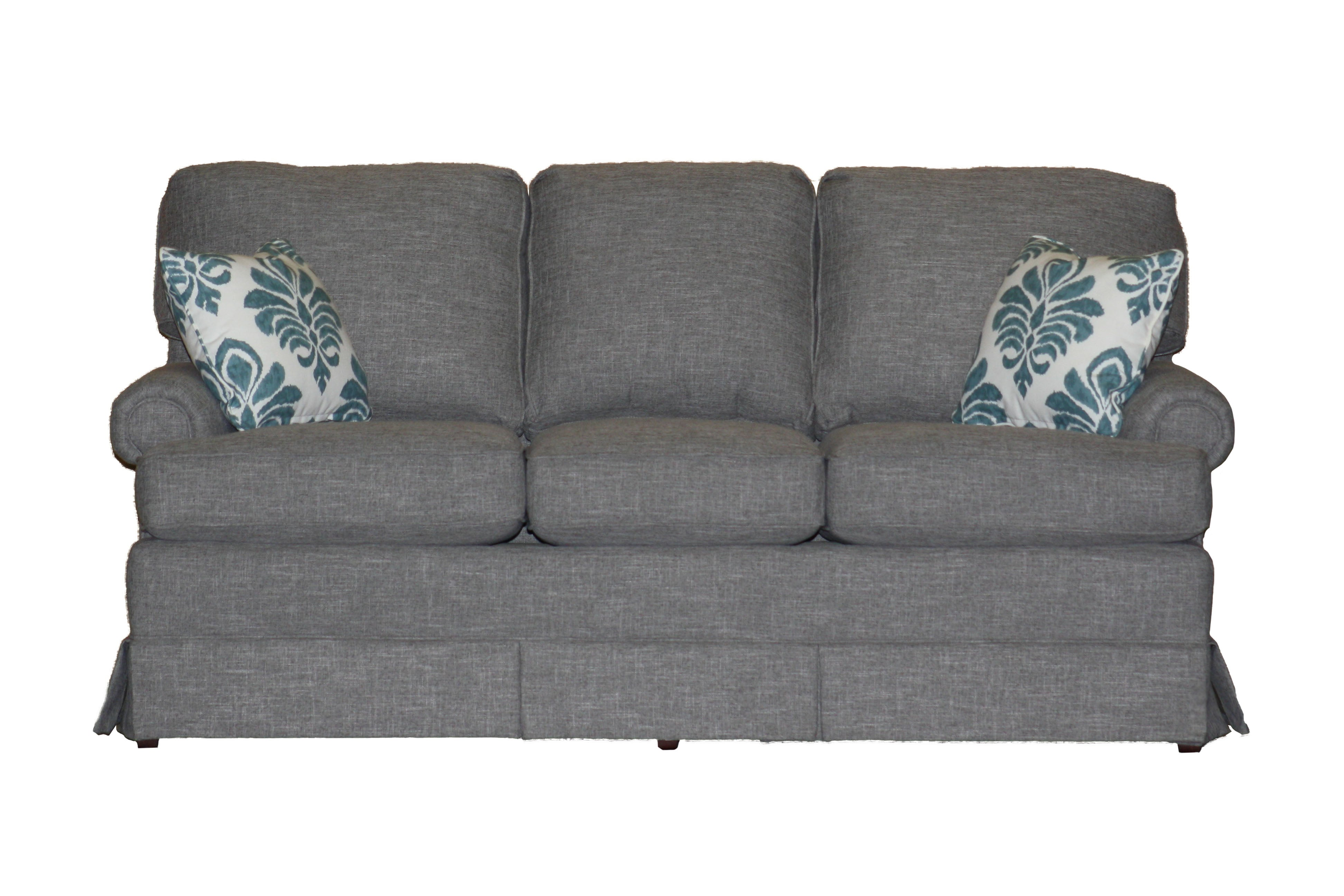 Terrific Non Toxic American Classic Panel Arm Skirted 74 Sofa At Cjindustries Chair Design For Home Cjindustriesco
