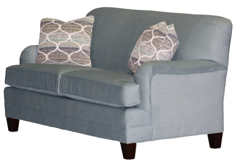 Temple Non-toxic Tailor Made 5520-75 Tightback Sofa - English Arms – Showroom Models at Endicott Home Furnishings - 02