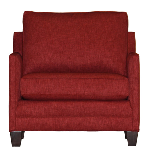 Temple Non-toxic Tailor Made Chair and Half – Narrow Track Arms – Showroom Models at Endicott Home Furnishings - 01