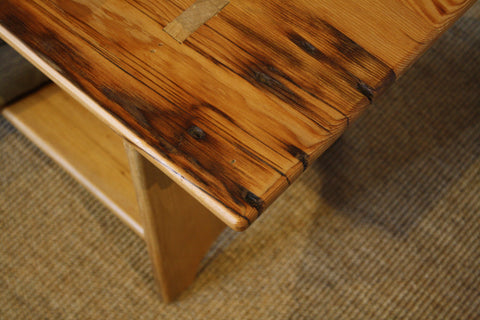 Rustic barn board bench from Endicott Home Furnishings - 02