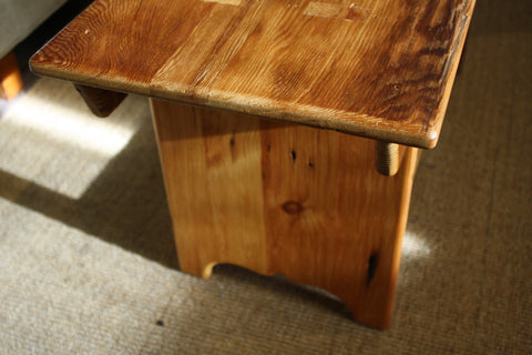 Rustic barn board bench from Endicott Home Furnishings - 04