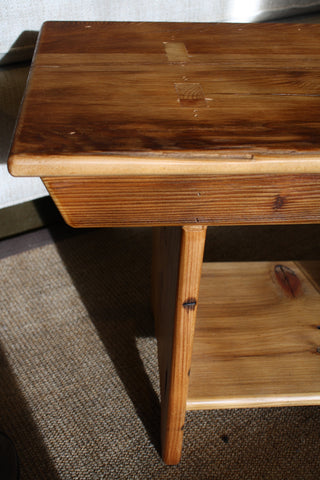 Rustic barn board bench from Endicott Home Furnishings - 05