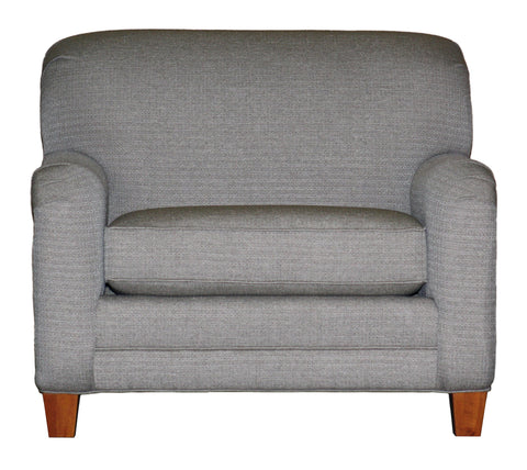 Non-toxic Temple Tailor Made English Arm Chair and Half  - 5505-1/2 - 01
