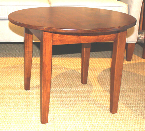 Shaker Round Coffee Table - Showroom Models