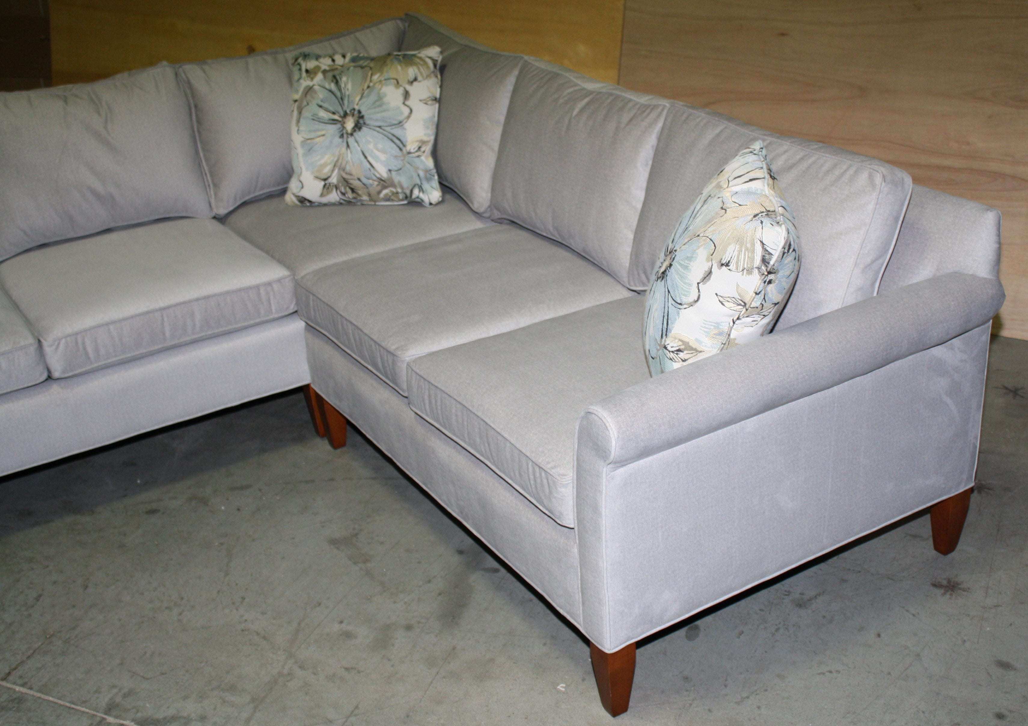 ... Non Toxic Stain Protected Otto Sectional Floor Model At Condofurniture. Com And Endicott Home ...