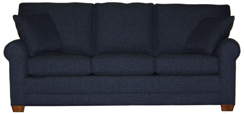 "Tailor Made 85"" deeper sock arm sofa at promotional price with select performance fabrics from Endicott Home - 01"