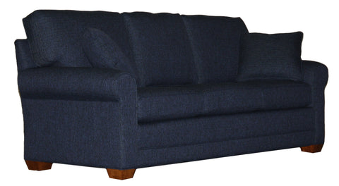 "Tailor Made 85"" deeper sock arm sofa at promotional price with select performance fabrics from Endicott Home - 02"