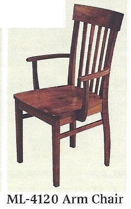 Venice Solid Hardwood Dining Chair
