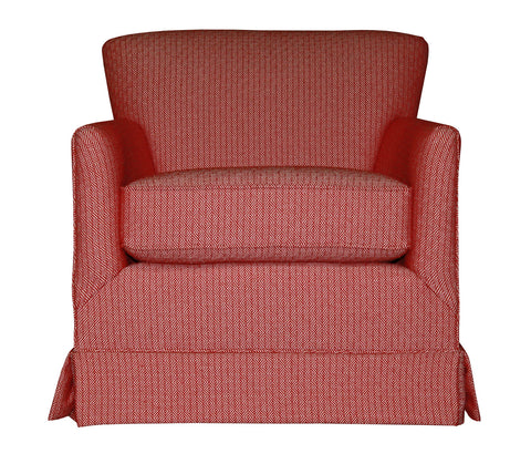 Non-toxic Michaela Swivel Glider Chair - Endicott Home Furnishings - 1