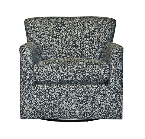 Non-toxic, customizable Michaela Swivel Chair - Endicott Home Furnishings - 1