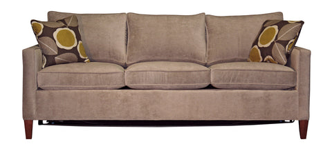 Non-toxic Miles Compact Queen Condo Sleeper Sofas - Endicott Home Furnishings - 1