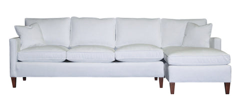 Miles Sectional #4 (Reversible), Non-toxic Sectionals - Endicott Home Furnishings - 1