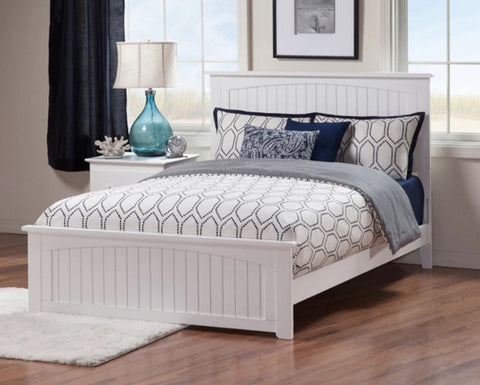 Nantucket Platform Bed with matching footboard, , Bedroom Furniture - Endicott Home Furnishings - 2