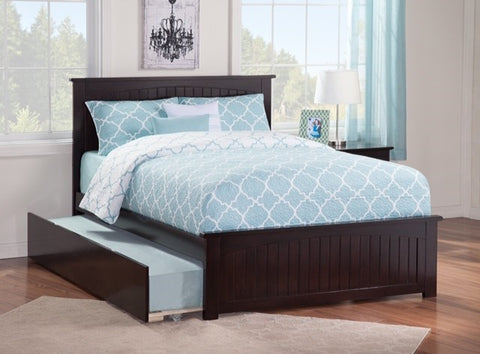 Nantucket Platform Bed with matching footboard, , Bedroom Furniture - Endicott Home Furnishings - 5