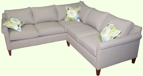 Compact Non-toxic Oscar Sectional #2 - Endicott Home Furnishings - 4