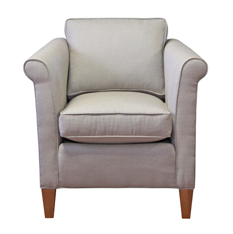 Narrow, deep non-toxic Piper Chair - Endicott Home Furnishings - 1