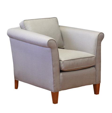 Narrow, deep non-toxic Piper Chair - Endicott Home Furnishings - 2