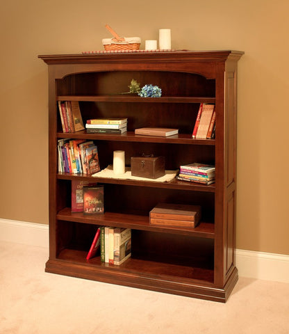 Traditional Open Bookcase, , Bookcase - Endicott Home Furnishings