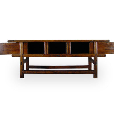 One of a kind - Massive Thick Top, One Board Chinese Altar Table - Clearance