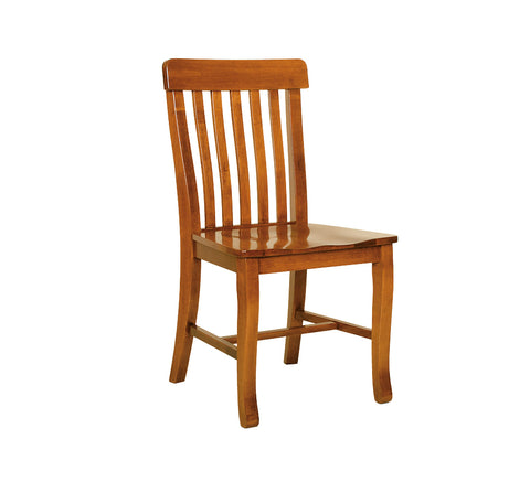 Solid Maple Lumbar Mission Dining Side Chair - Clearance
