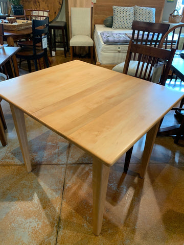 Eency Weency Maple Dining Table with 2 leaves - Showroom Model Dining Table