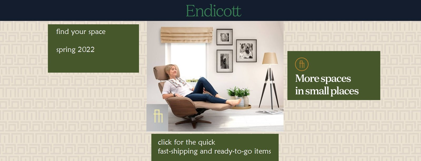 Holiday Sale at Endicott Home \ Condofurniture.com