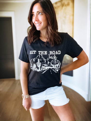 HIT THE ROAD JACK GRAPHIC TEE