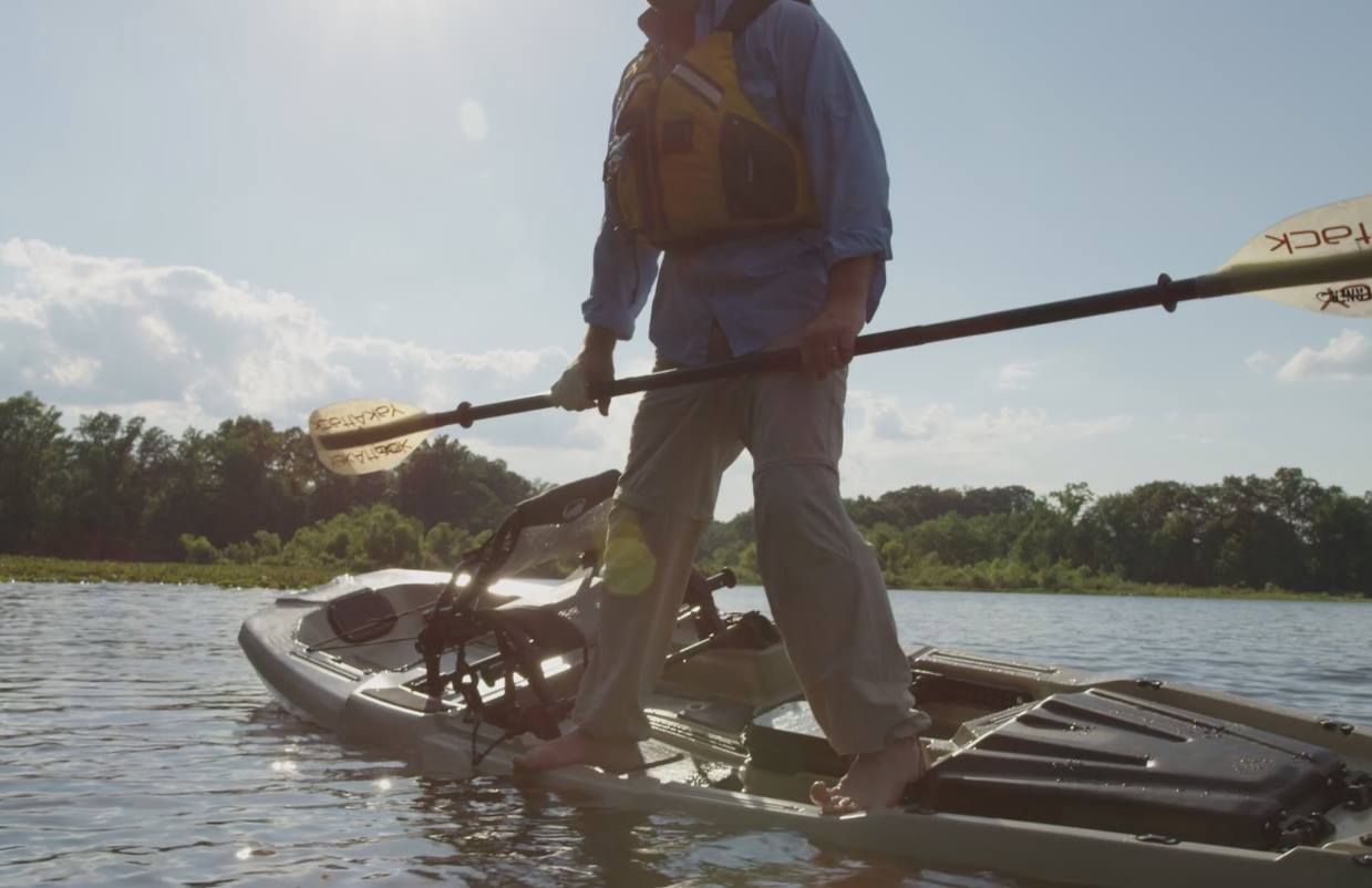 Bonafide ss127 fishing kayak blueway outfitters for Youth fishing tournaments near me