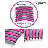The Original & Best Weighted Slimming Hula Hoop - Brilliant for weight loss and toning abdominals