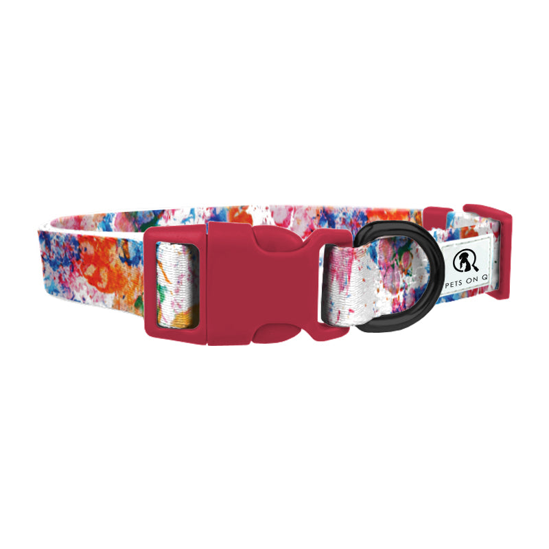 Painted Paws Dog Collar