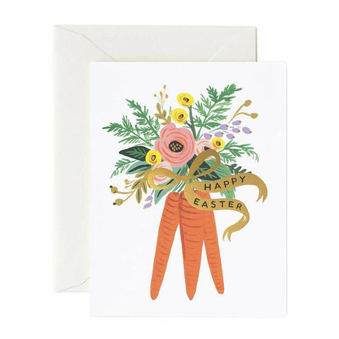 Carrot Bouquet Card